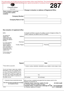 Download Form 287